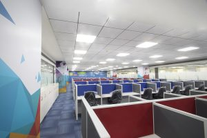 Turnkey office interior design